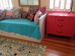 Item: Coral painted dresser