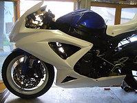 Tête de fourche GSXR 600-750 2008-2010