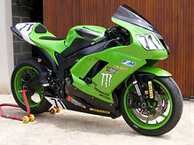 Kit Carénage ZX6R 2007-2008