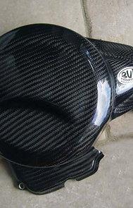 Protection carter embrayage à coller ou à visser Café Racer VOXAN