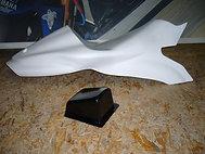 Selle racing + pontet ZX6R 2007-2008