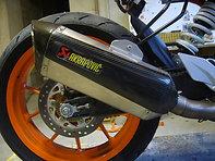 Protection silencieux AKRAPOVIC  390 DUKE 2014-2015
