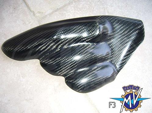Protection tubulure pot échappement 3 sorties MV 675 F3 2012-2013