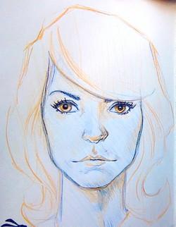 Face Sketch03 - Summer Rain.jpg