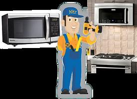 microwave repair and installation Range