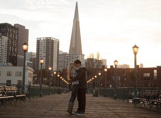 Bryan and stephanie: SF Surprise Engagement