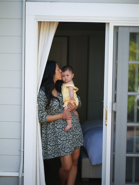 in home baby and family session, San Rafael CA