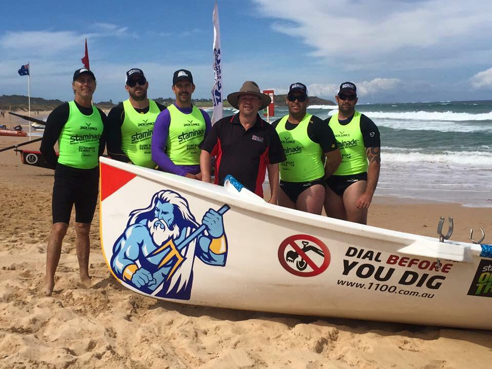 Our Elite Surf Boat Team