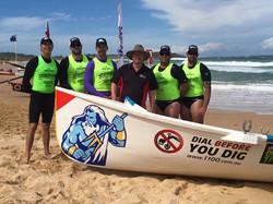 Our Elite Surf Boat Team