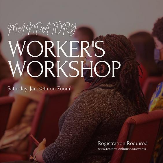 Worker's Workshop - Deeper in His Service