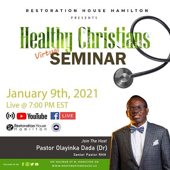 Healthy Christians Virtual Seminar