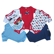 To The Rescue Themed BodySuits - 0-3 Months