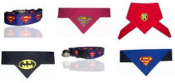 Collar for dogs superhero