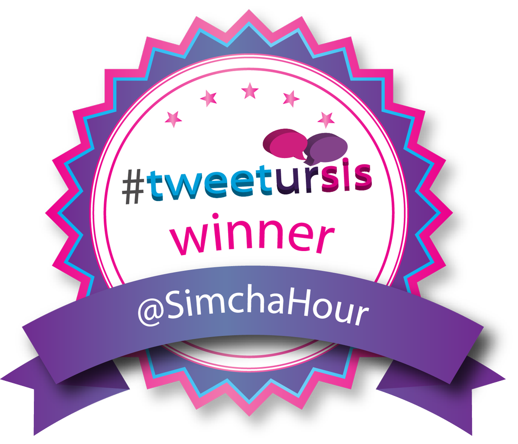Tweetursis winner Simcha Hour