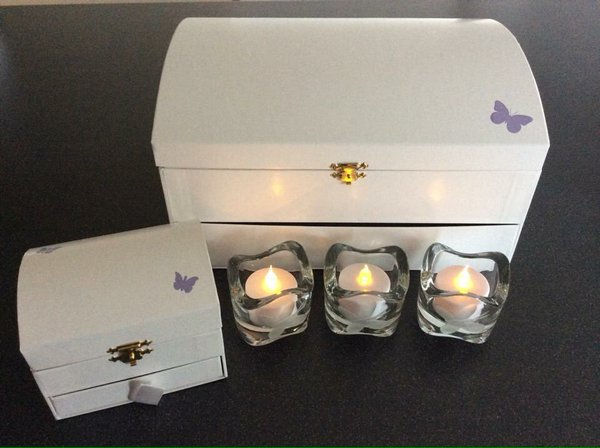 Our precious Memory Boxes are donated to hospitals so they can be gifted to parents