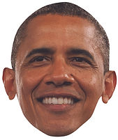 Obama Celebrity Mask