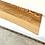Thumbnail: Ash Live Edge Floating Shelf |  Bracket & Hardware Included | Bookshelf | Mantel