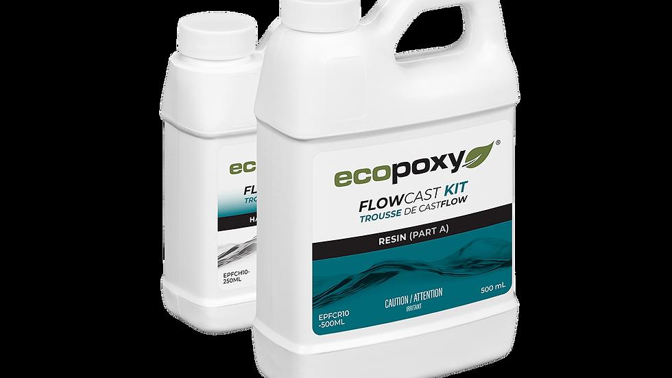 EcoPoxy Flow Cast 2:1 Resin Kit   FlowCast   River Table   Epoxy  