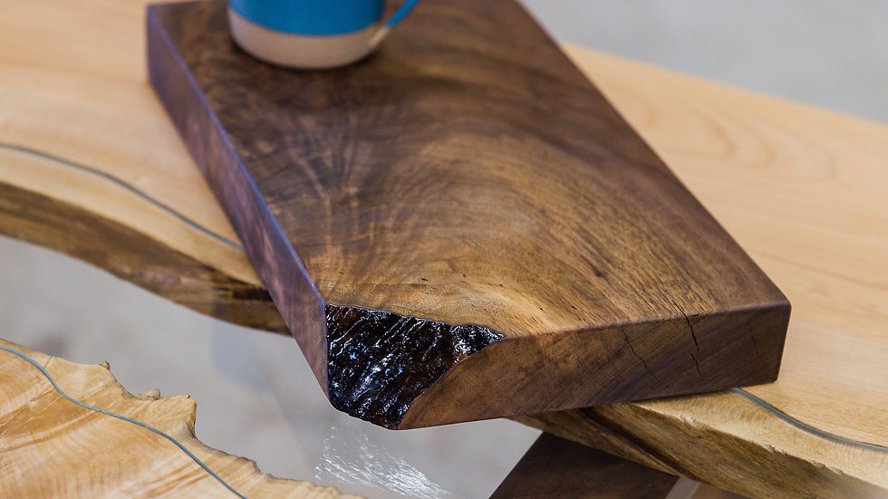 Black Walnut Live Edge Cutting Board |