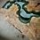 Thumbnail: Big Leaf Maple River Table | River Desk | Standing Base | Handmade Live Edge Tab