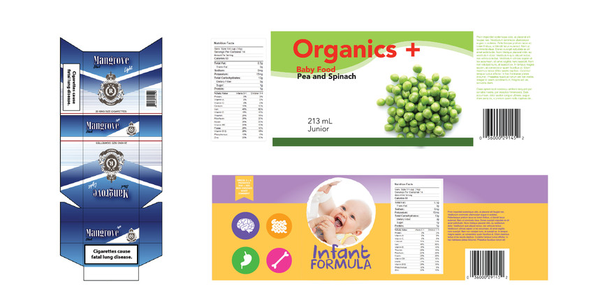 Packaging and Labels