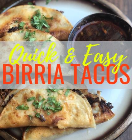 Easy Crockpot Birria Tacos