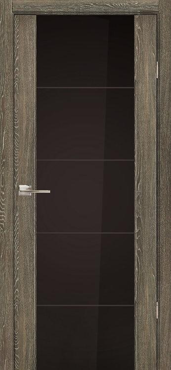 Эго 3/3 Черный триплекс с гравировкой