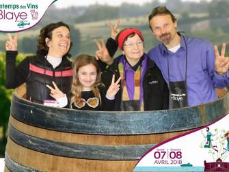 un joli souvenir du Printemps des vins de Blaye