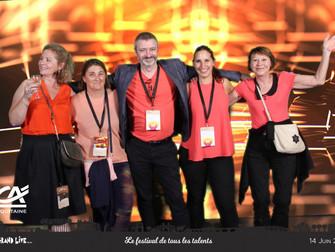 Convention d'une grande banque française à l'Arena de Bordeaux