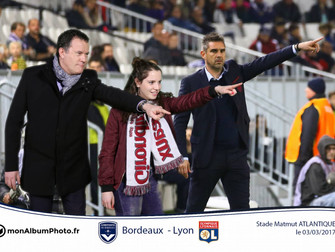 Animation photo stade Matmut Atlantique FC Girondins de Bordeaux vs Olympique Lyonnais