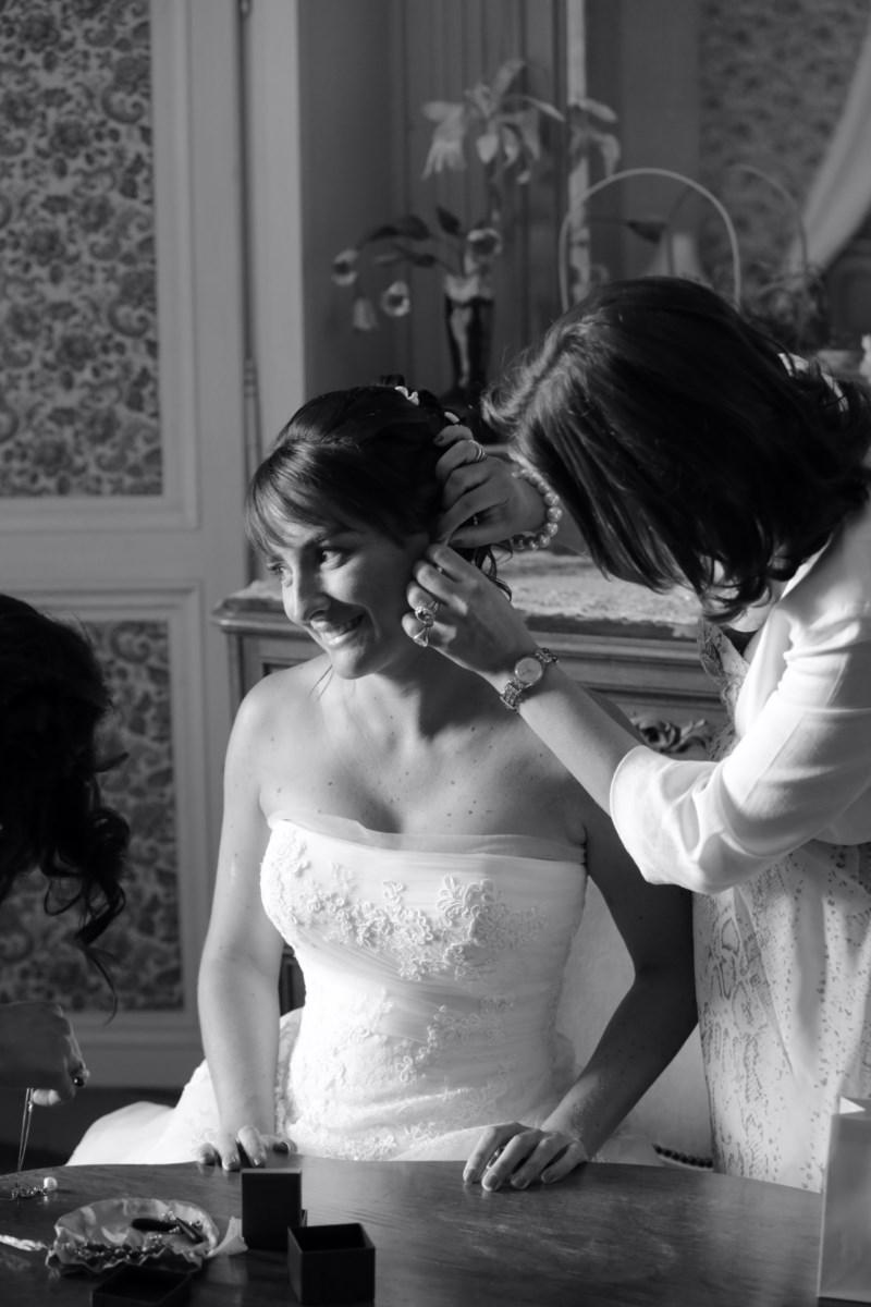 Photo mariage préparatifs