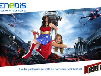 Studio fond vert  au Bordeaux Geek Festival