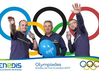 Olympiades de la Prévention avec un grand fournisseur d'électricité