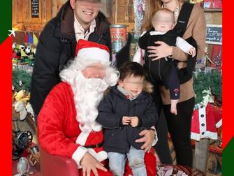 Le père Noël attendait les enfants à l'aéroport de Mérignac!
