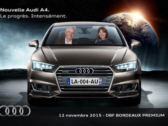 Nouvelle Audi A4 - Palais de la Bourse