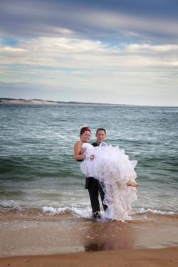 Photo mariage cap ferret plage 09.jpg