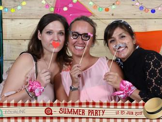 Summer party Guinguette dans un centre d'appel, ambiance exceptionnelle!