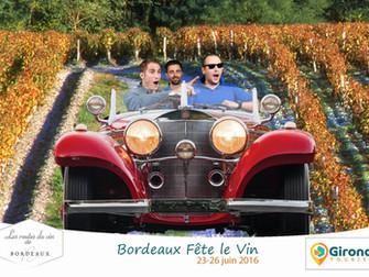 BORDEAUX FÊTE LE VIN, GIRONDE TOURISME
