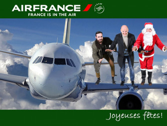 Le Père Noël était en salle d'embarquement à l'aéroport de Bordeaux!
