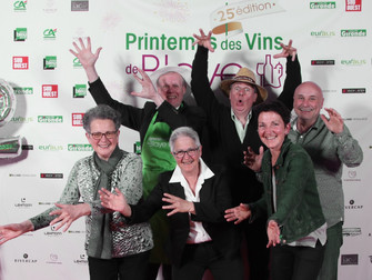 Un joli souvenir du Printemps des vins de Blaye 2019