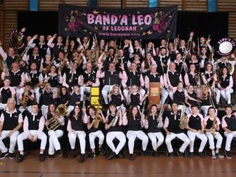 Photo de famille géante de la banda de Léognan!
