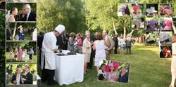 Photo cocktail mariage vin d'honneur