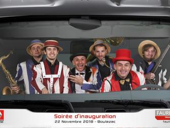 Inauguration d'une concession automobile à Riom
