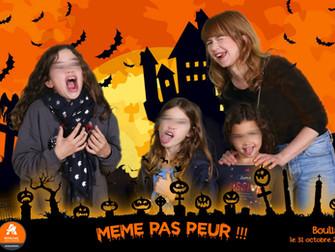 Incroyable Halloween dans un grand centre commerciale près de Bordeaux