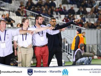 Fond Vert match Bordeaux vs OM