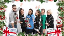 Concours de pulls moches de Noël à Paris!
