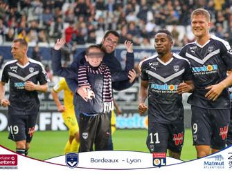 Match à Bordeaux, une animation photo fun et insolite!