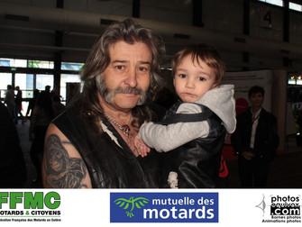 Mutuelle des motards et FFMC au Salon des 2 roues de Bordeaux