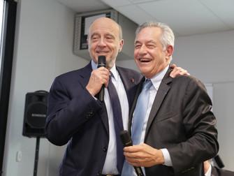 Alain Juppé visite l'école EPSI