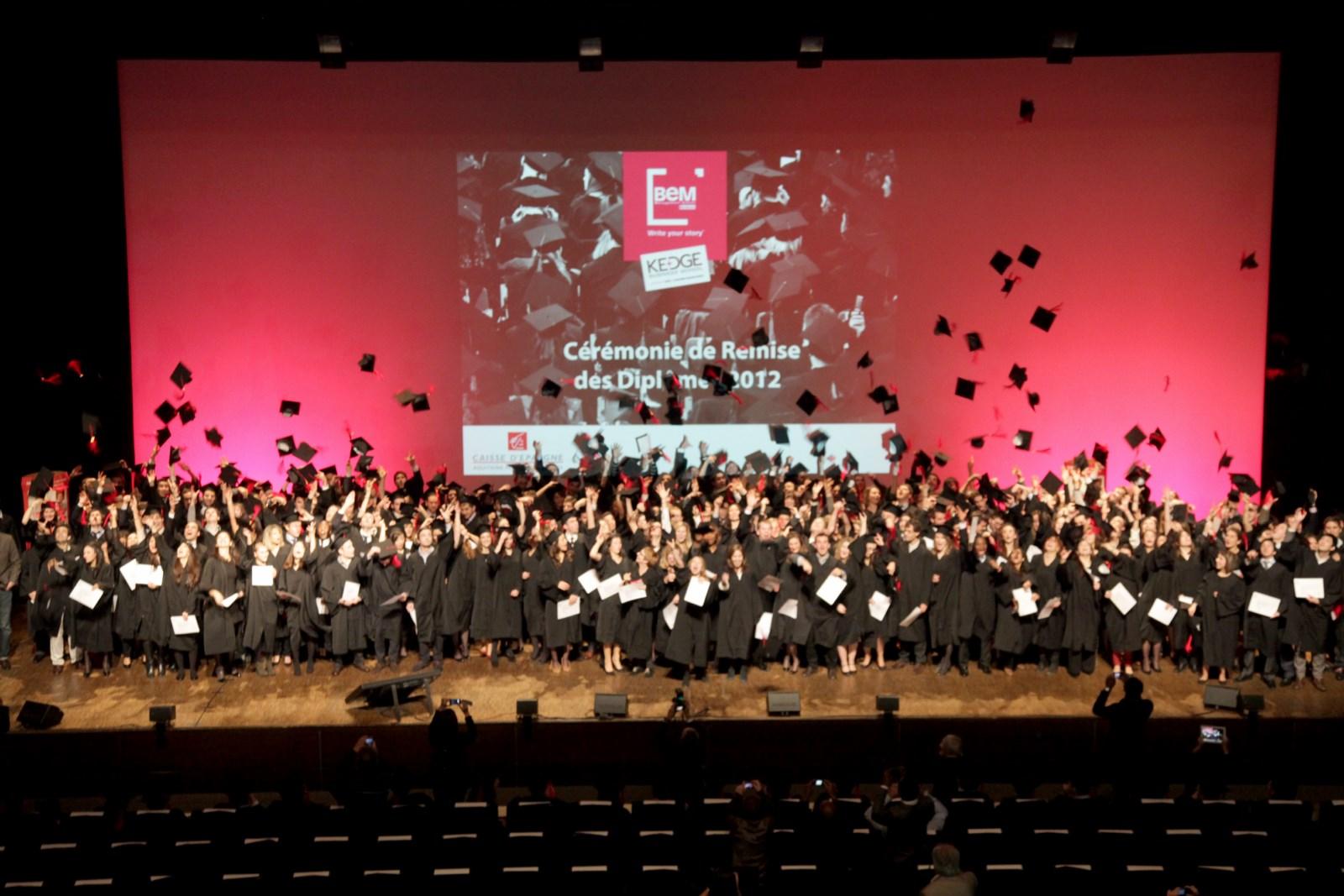 Remise de diplôme Grandes écoles